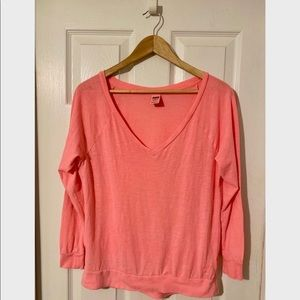 Victoria Secret Pink Shirt Size XS